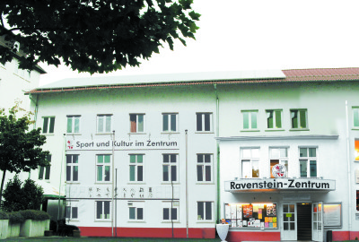 Ravenstein-Zentrum heute