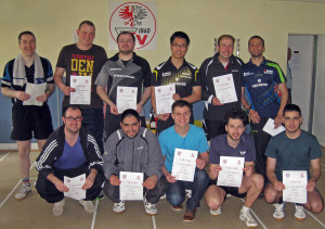 Kreisrangliste 2014 Sieger Herren