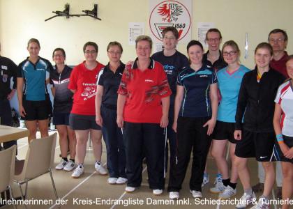 Kreisrangliste Frankfurt Damen 2015