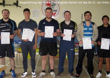 Kreisrangliste Frankfurt Herren Sieger 2015