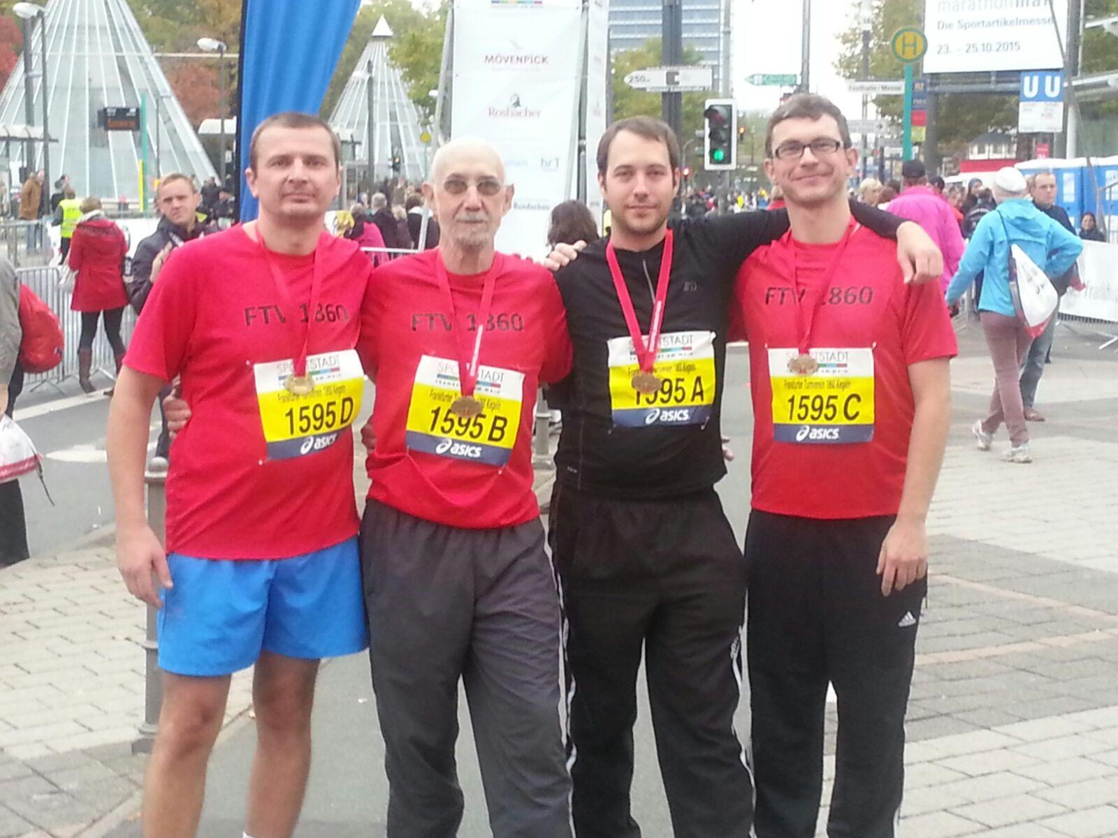 Marathonstaffel der Kegler 2015